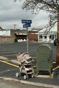Davis St @ Zimmerman St, 4/14/13