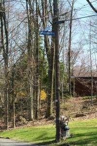 Bissell St @ Upper Knapp Rd, 4/22/13