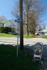 W Grove St @ Sunset St, 4/25/13