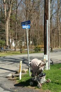 Grandview St @ Oakmont Rd (near Knapp Rd), 4/25/13