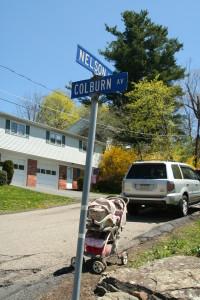 Colburn Av @ Nelson St, 5/1/13