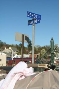 Depot St @ Highland Av, 5/3/13