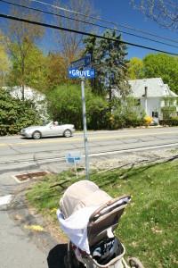 W Grove St @ Woodside Dr, 5/4/13
