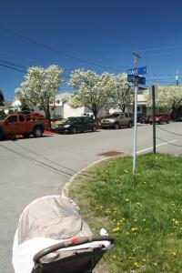 Davis St @ Spring St, 5/4/13