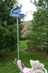 Hedge Row Run @ Stone Ridge Cir, 5/10/13