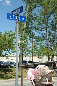 Barrett St @ S State St, 5/16/13