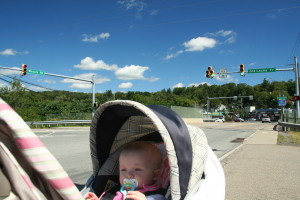 Old Lackawanna Trail @ Winola Rd, 9/4/13